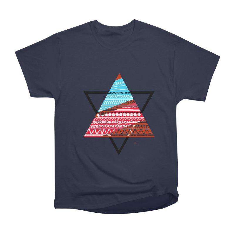 Pyramid3 Women's Classic Unisex T-Shirt by DERG's Artist Shop