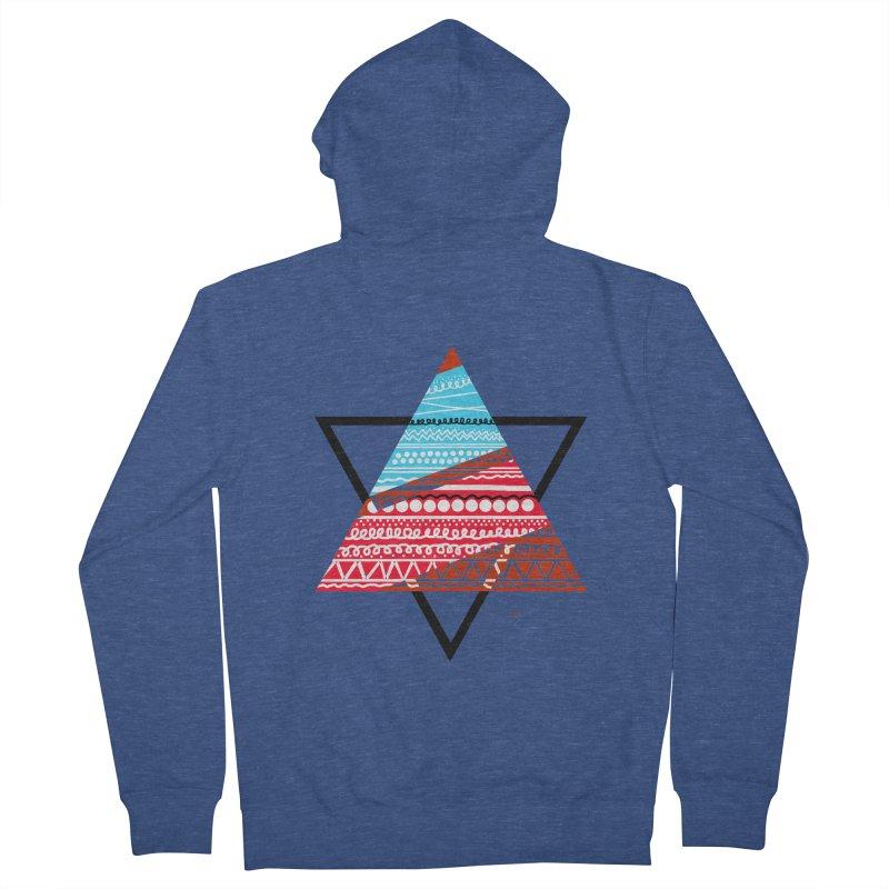 Pyramid3 Women's Zip-Up Hoody by DERG's Artist Shop