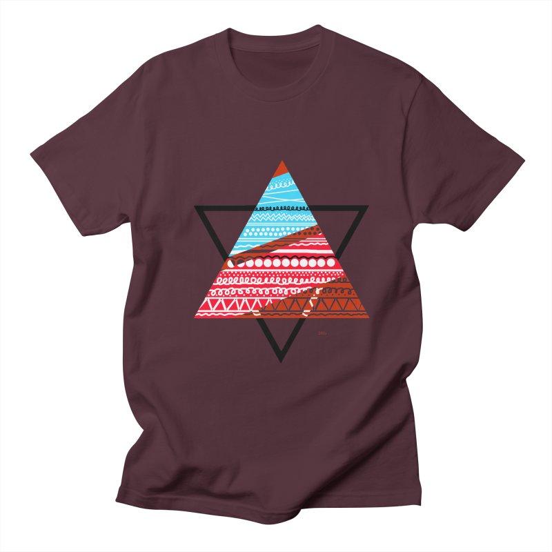 Pyramid3 Women's Unisex T-Shirt by DERG's Artist Shop