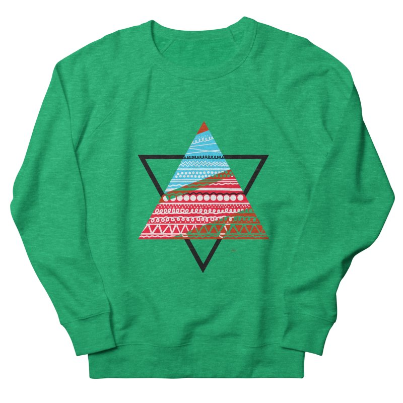 Pyramid3 Women's Sweatshirt by DERG's Artist Shop