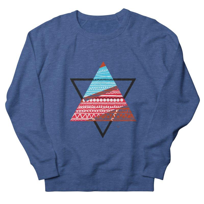Pyramid3 Men's Sweatshirt by DERG's Artist Shop