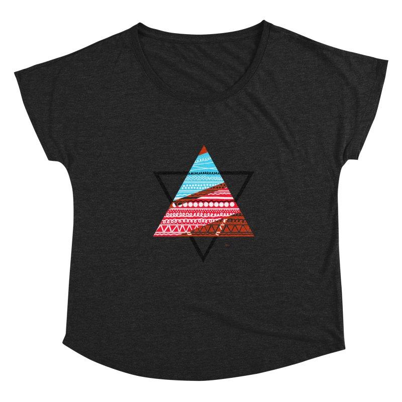 Pyramid3 Women's Dolman by DERG's Artist Shop