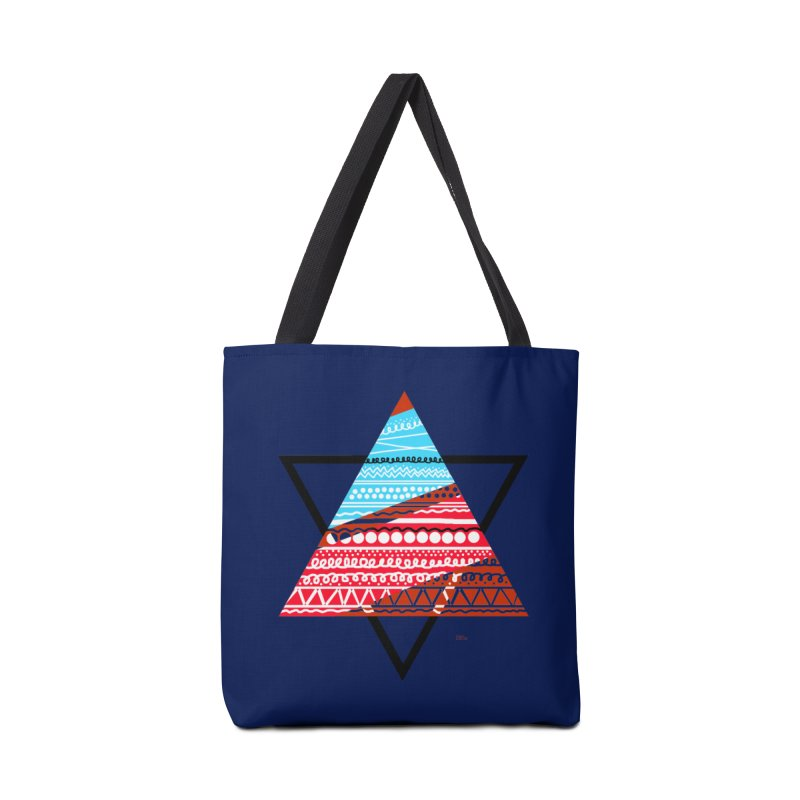Pyramid3 Accessories Bag by DERG's Artist Shop