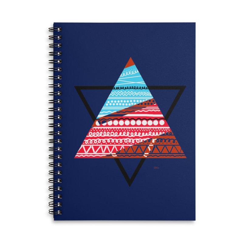 Pyramid3 Accessories Notebook by DERG's Artist Shop