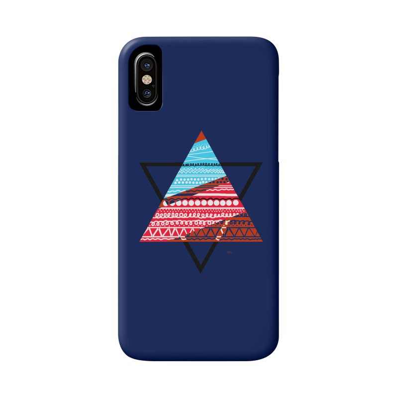 Pyramid3 Accessories Phone Case by DERG's Artist Shop