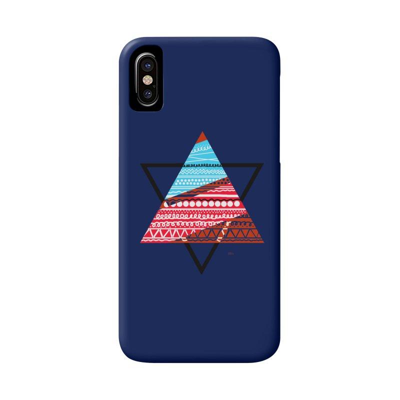 Pyramid3 Accessories Phone Case by DERG's Artist Shop