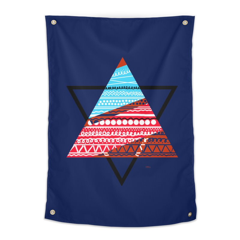 Pyramid3 Home Tapestry by DERG's Artist Shop
