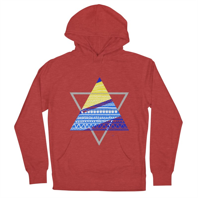Pyramid gray Women's Pullover Hoody by DERG's Artist Shop