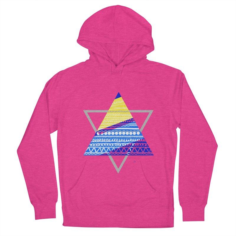 Pyramid gray Men's Pullover Hoody by DERG's Artist Shop