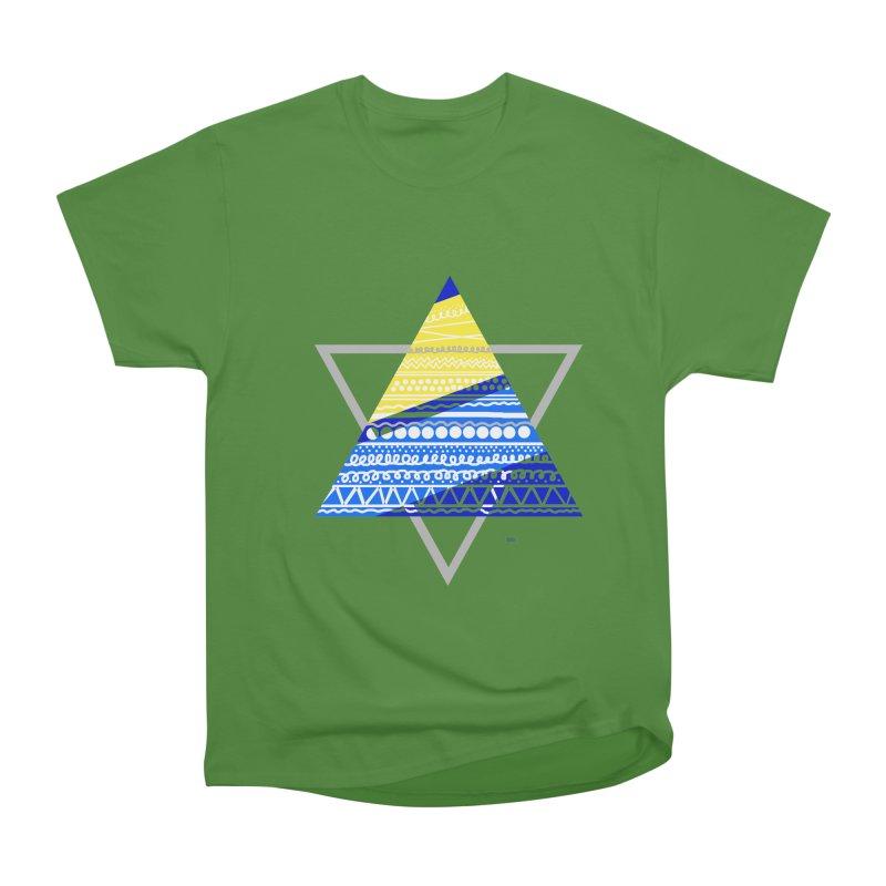 Pyramid gray Women's Classic Unisex T-Shirt by DERG's Artist Shop