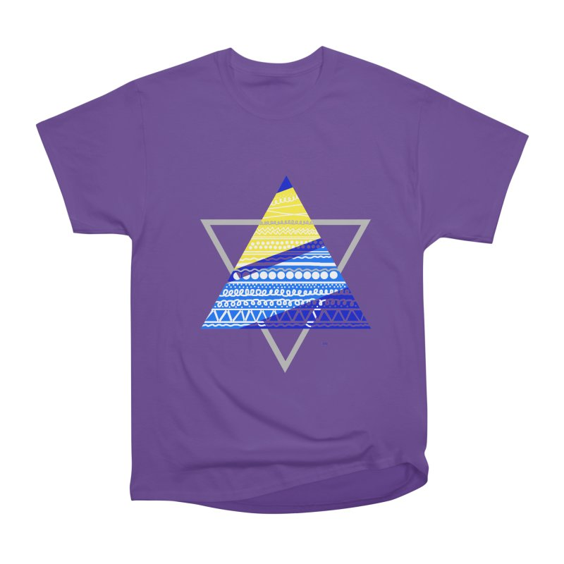 Pyramid gray Men's Classic T-Shirt by DERG's Artist Shop
