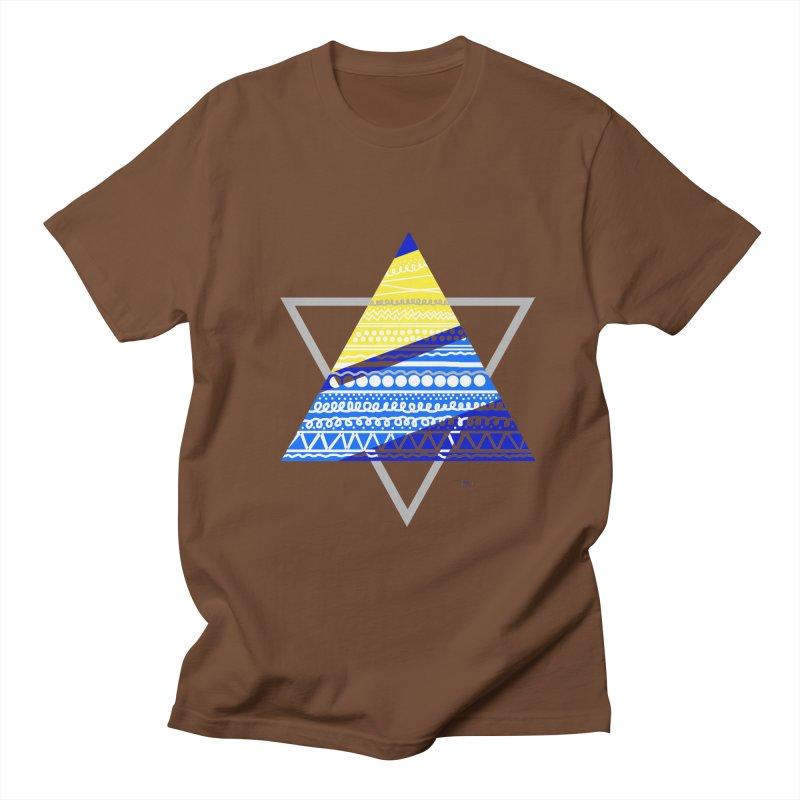 Pyramid gray Women's Unisex T-Shirt by DERG's Artist Shop