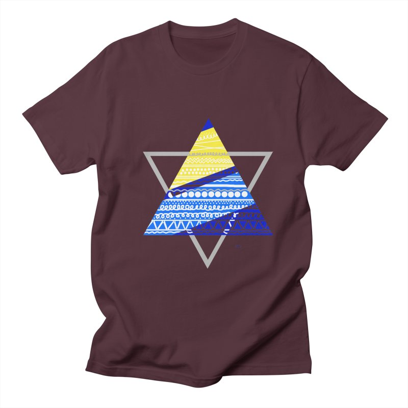 Pyramid gray Men's T-Shirt by DERG's Artist Shop