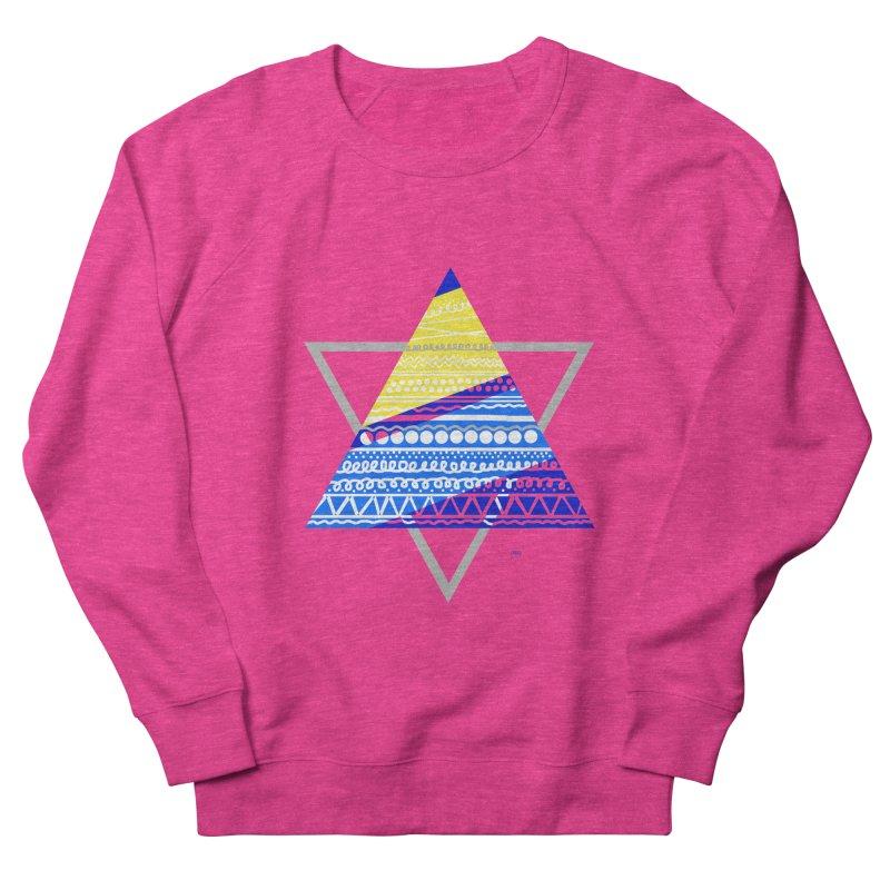 Pyramid gray Women's Sweatshirt by DERG's Artist Shop