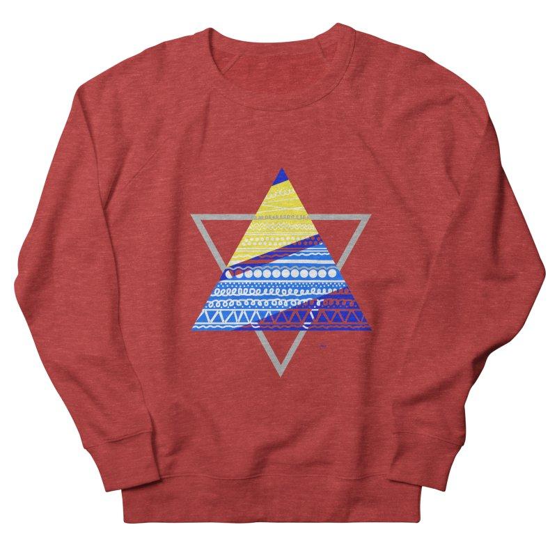 Pyramid gray Men's Sweatshirt by DERG's Artist Shop