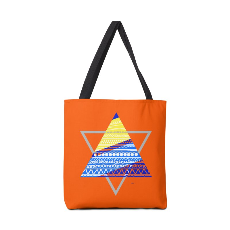Pyramid gray Accessories Bag by DERG's Artist Shop