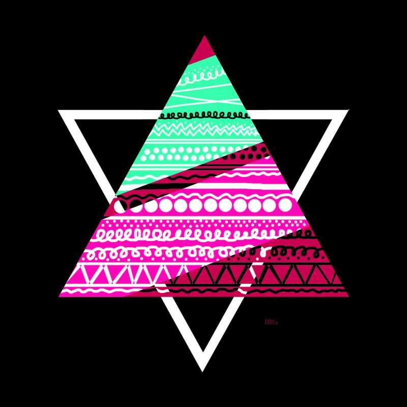 Pyramid pink None  by DERG's Artist Shop