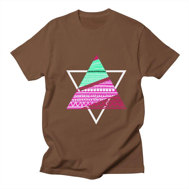 Pyramid pink Women's Unisex T-Shirt by DERG's Artist Shop