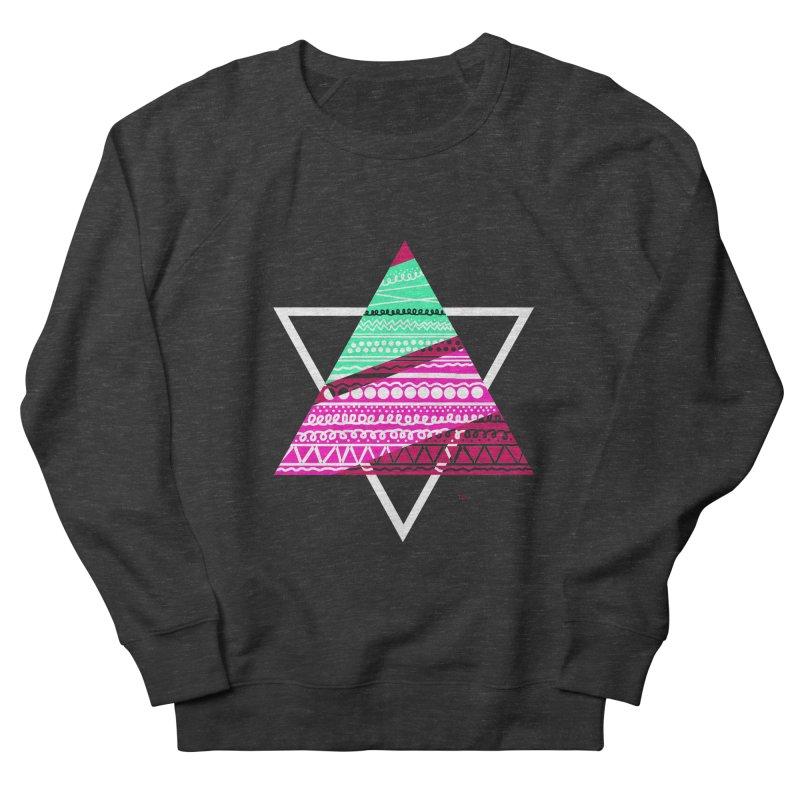 Pyramid pink Women's Sweatshirt by DERG's Artist Shop