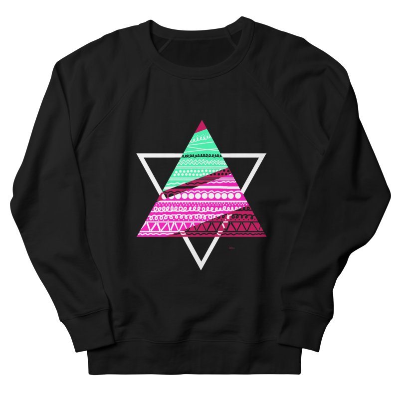 Pyramid pink Women's Sweatshirt by DERG's Artist Shop