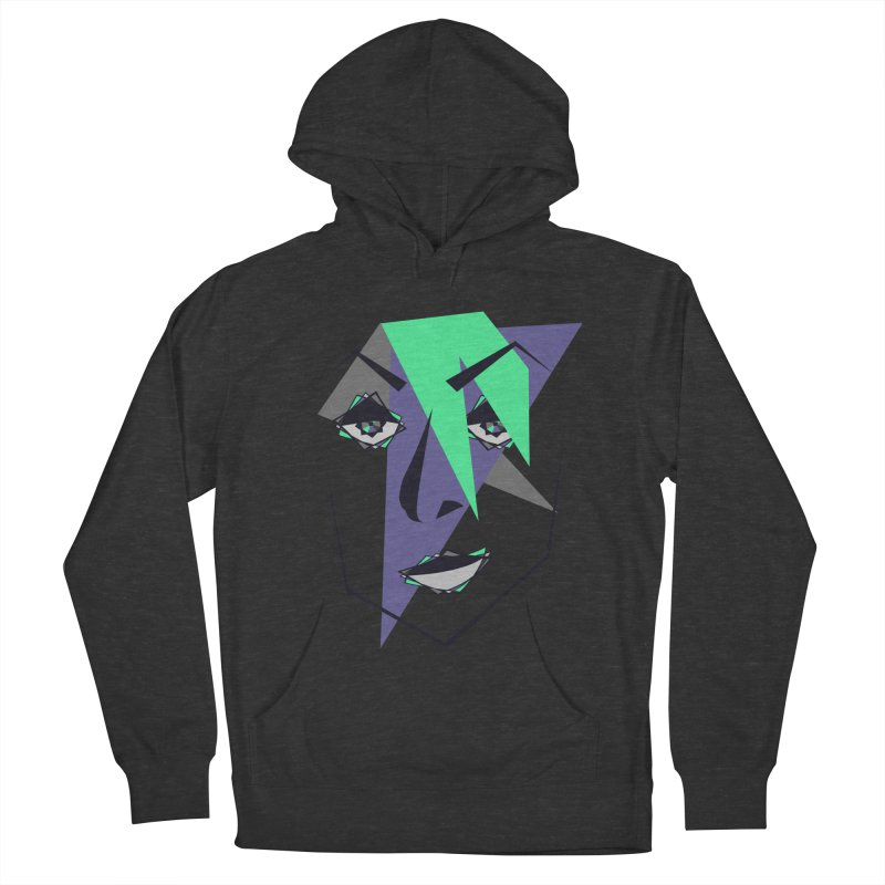 Face me Women's Pullover Hoody by DERG's Artist Shop