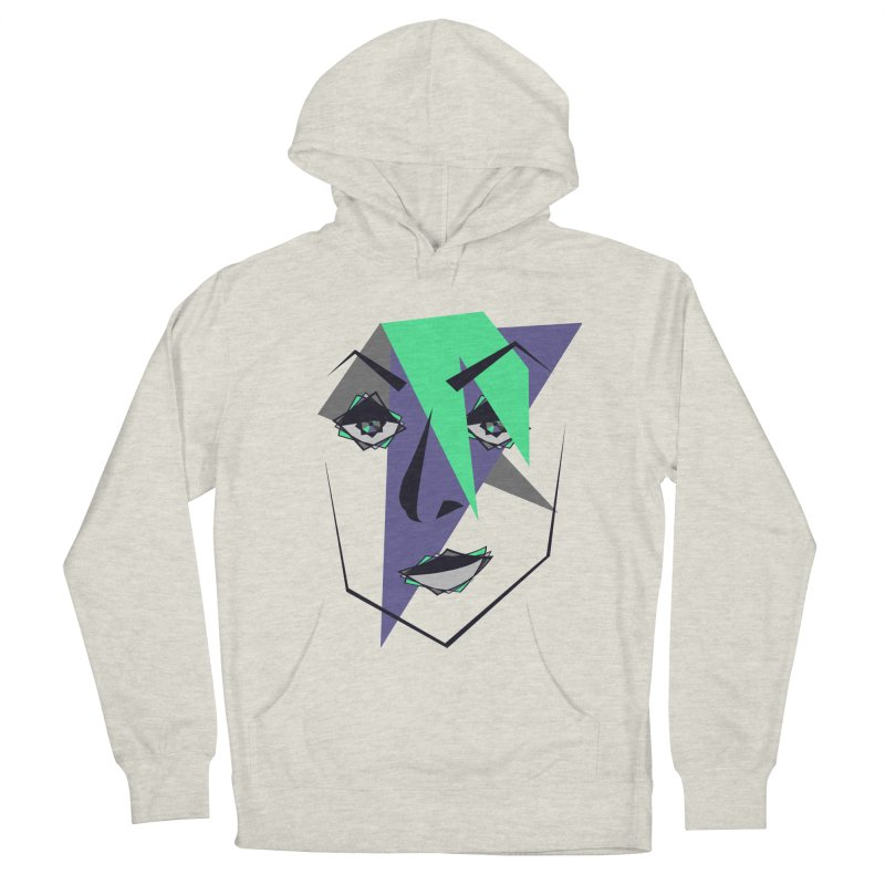 Face me Men's Pullover Hoody by DERG's Artist Shop