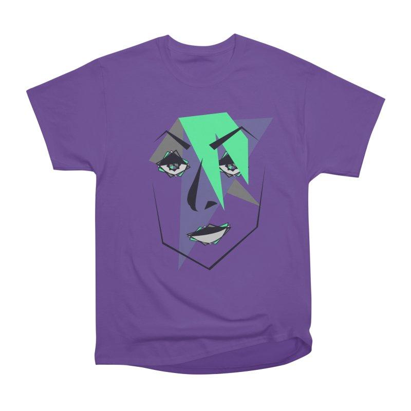 Face me Women's Heavyweight Unisex T-Shirt by DERG's Artist Shop