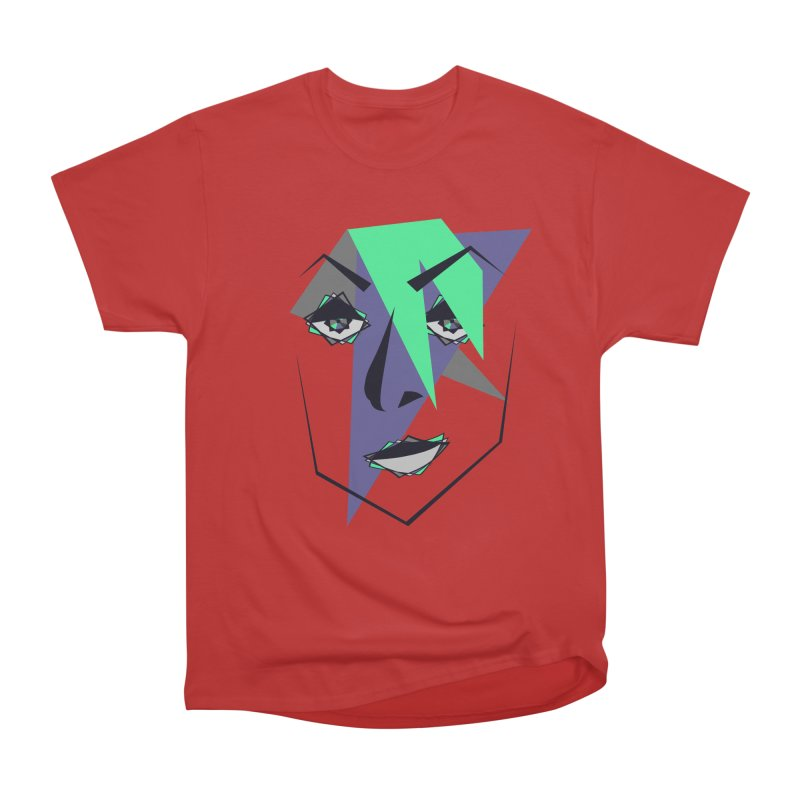 Face me Men's Classic T-Shirt by DERG's Artist Shop