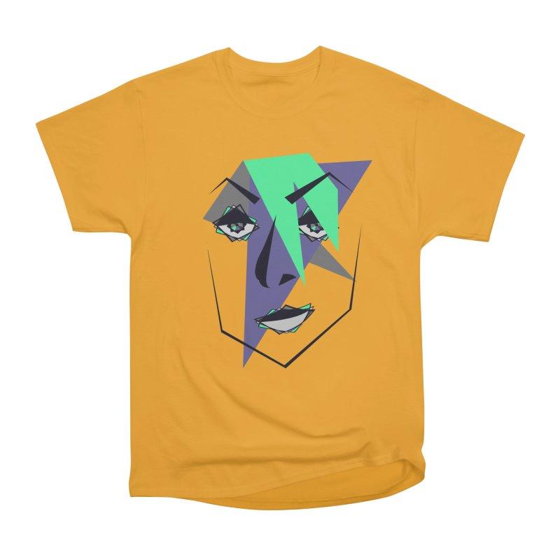 Face me Men's Heavyweight T-Shirt by DERG's Artist Shop