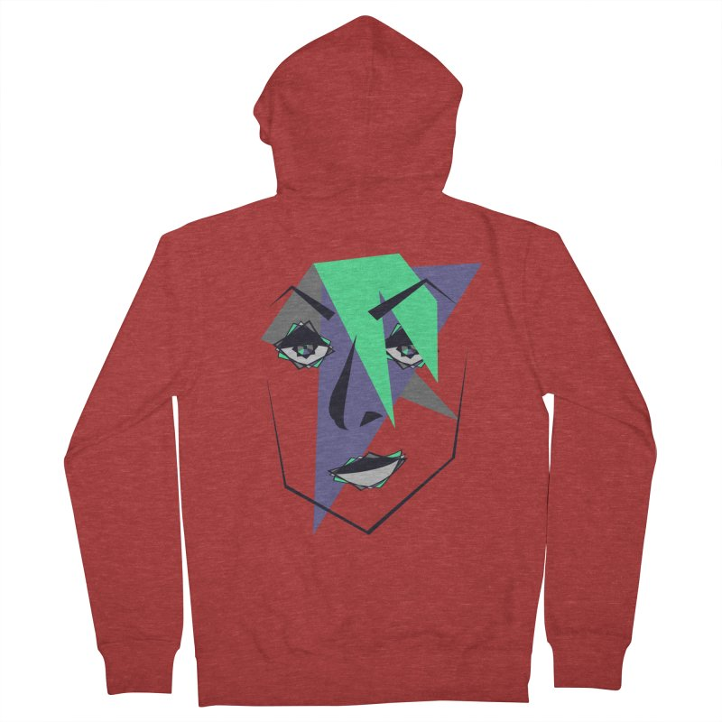 Face me Women's Zip-Up Hoody by DERG's Artist Shop