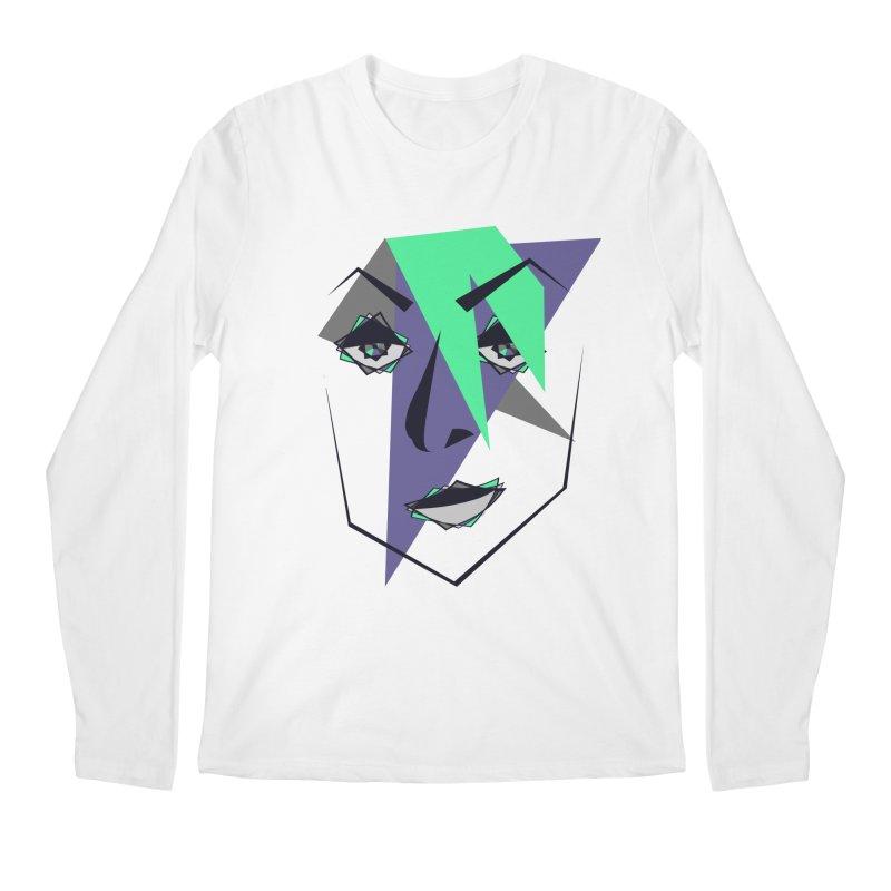 Face me Men's Longsleeve T-Shirt by DERG's Artist Shop