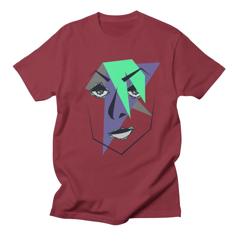Face me Men's T-shirt by DERG's Artist Shop