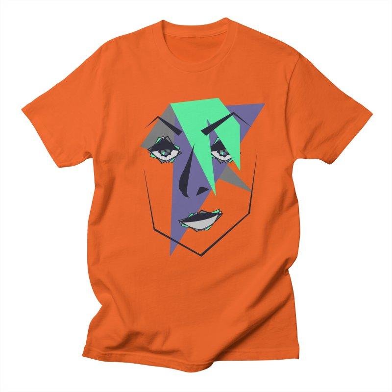 Face me Women's Unisex T-Shirt by DERG's Artist Shop
