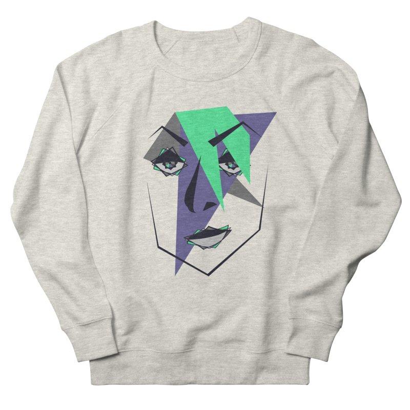 Face me Men's French Terry Sweatshirt by DERG's Artist Shop