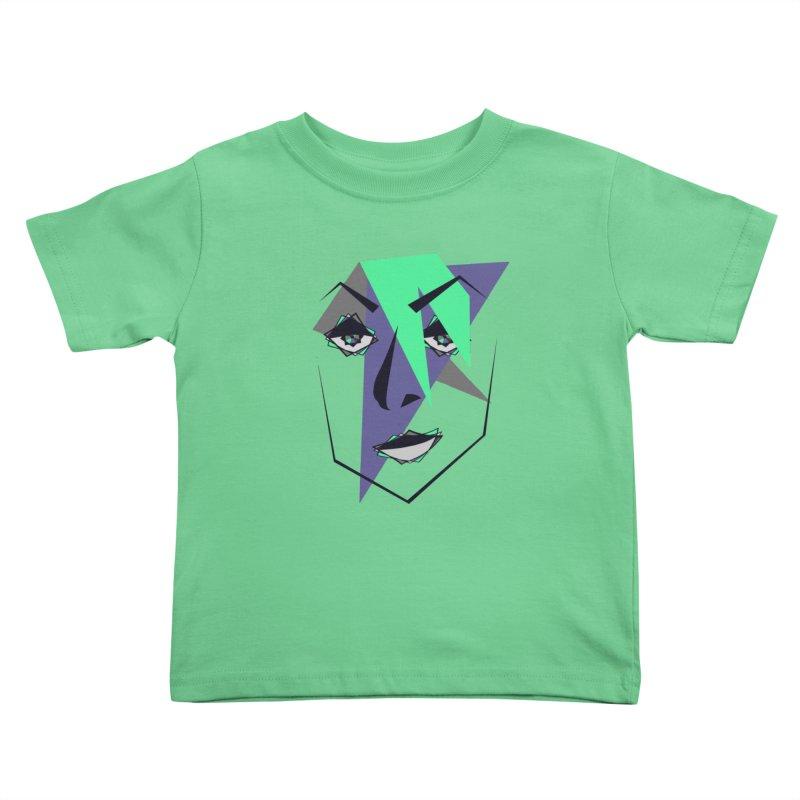 Face me Kids Toddler T-Shirt by DERG's Artist Shop