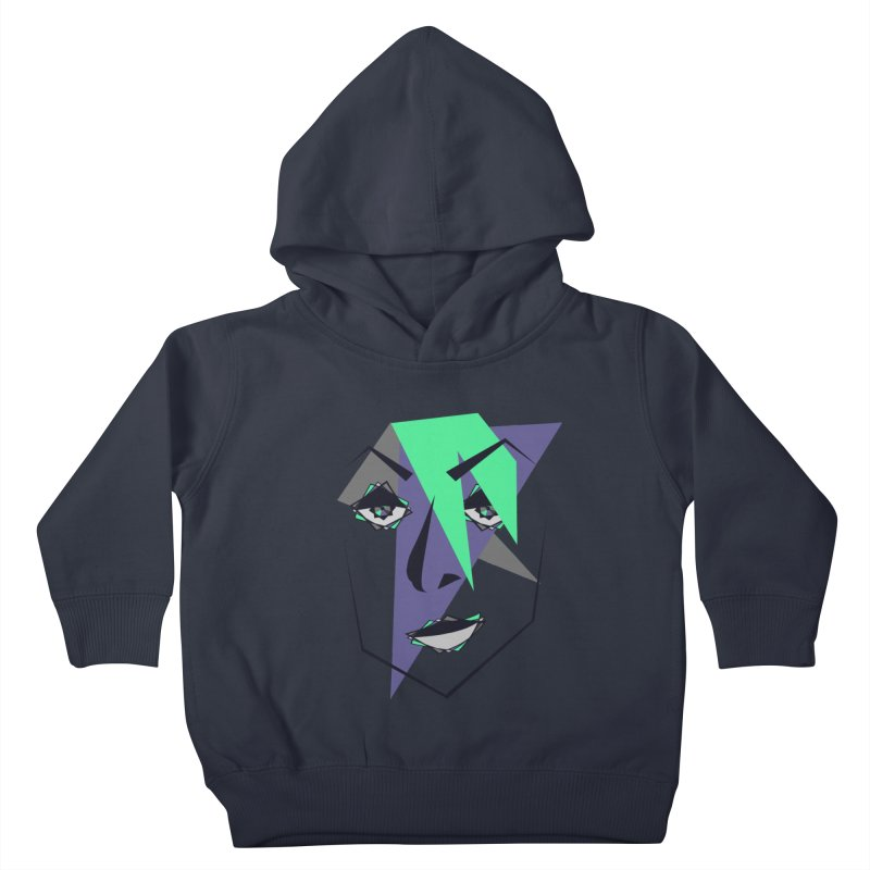 Face me Kids Toddler Pullover Hoody by DERG's Artist Shop