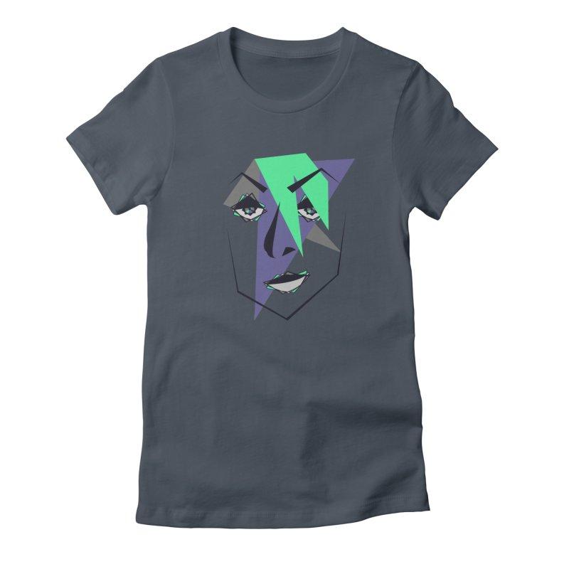 Face me Women's T-Shirt by DERG's Artist Shop