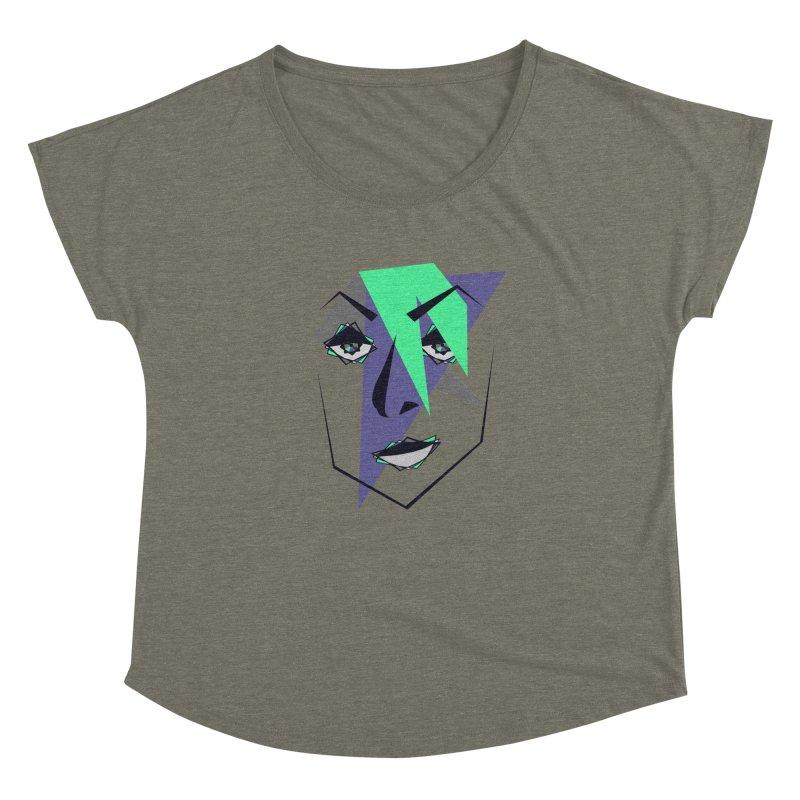 Face me Women's Dolman by DERG's Artist Shop