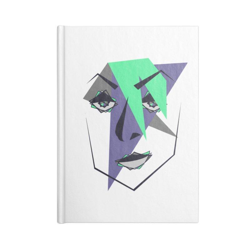 Face me Accessories Blank Journal Notebook by DERG's Artist Shop