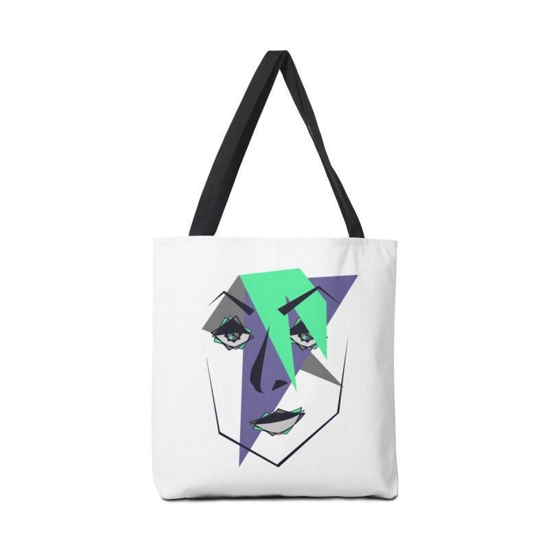 Face me Accessories Bag by DERG's Artist Shop