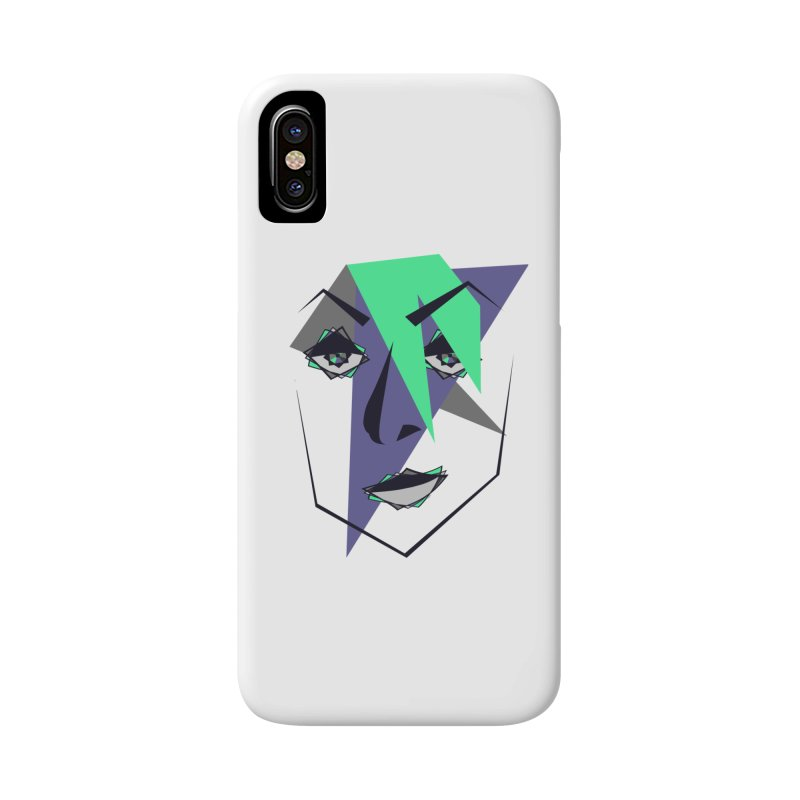Face me Accessories Phone Case by DERG's Artist Shop