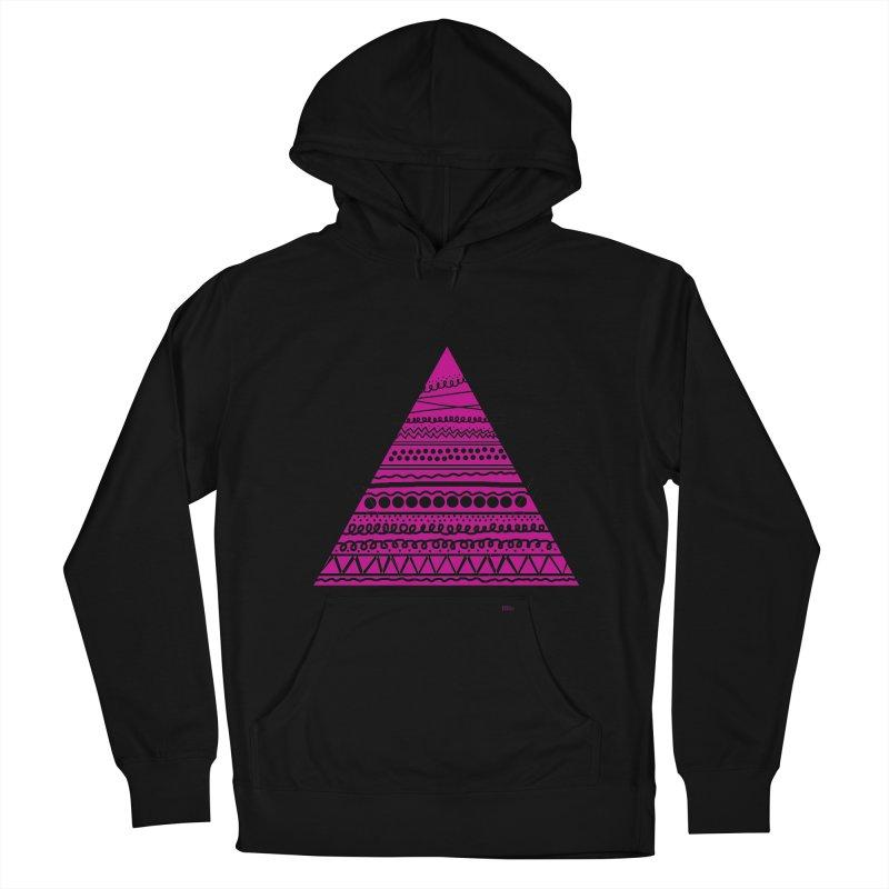 Triangle purple Women's Pullover Hoody by DERG's Artist Shop