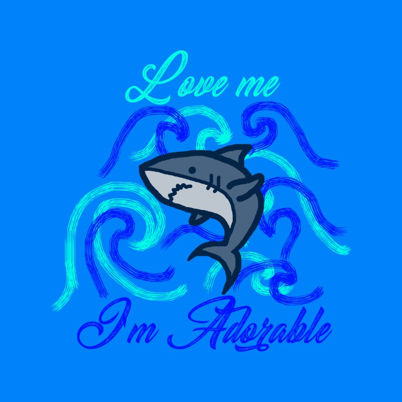 Shark adorable by DERG's Artist Shop