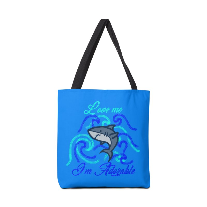 Shark adorable Accessories Bag by DERG's Artist Shop