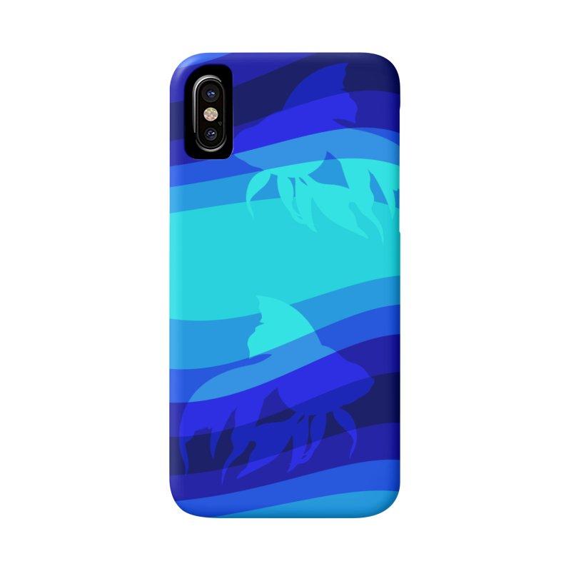 Blue wave Accessories Phone Case by DERG's Artist Shop
