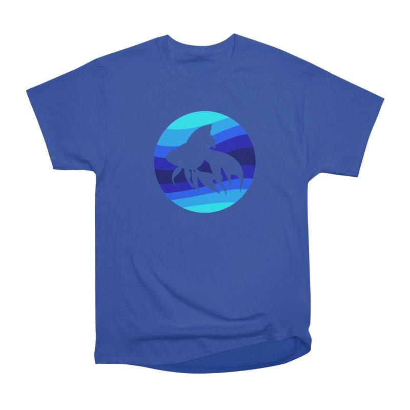 Blue wave Men's Classic T-Shirt by DERG's Artist Shop