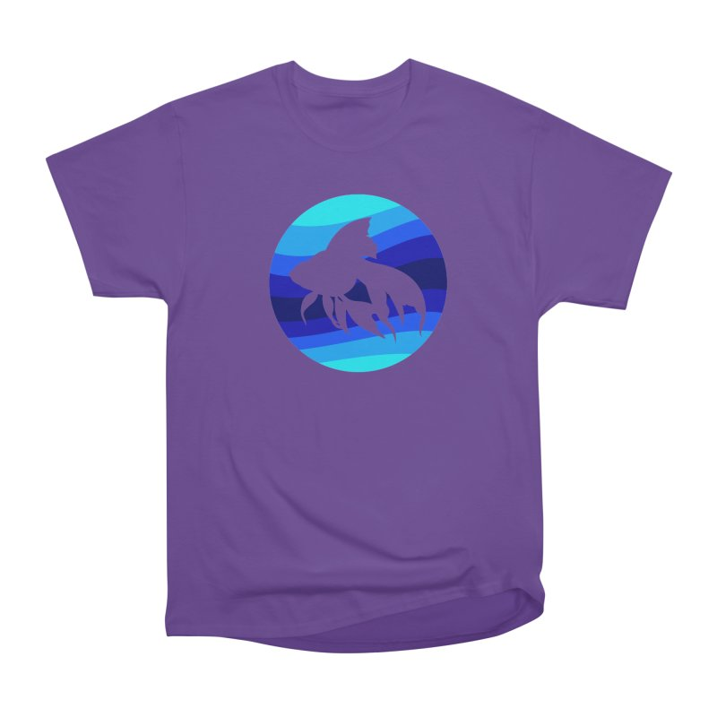 Blue wave Men's Classic T-Shirt by DERG's Artist Shop