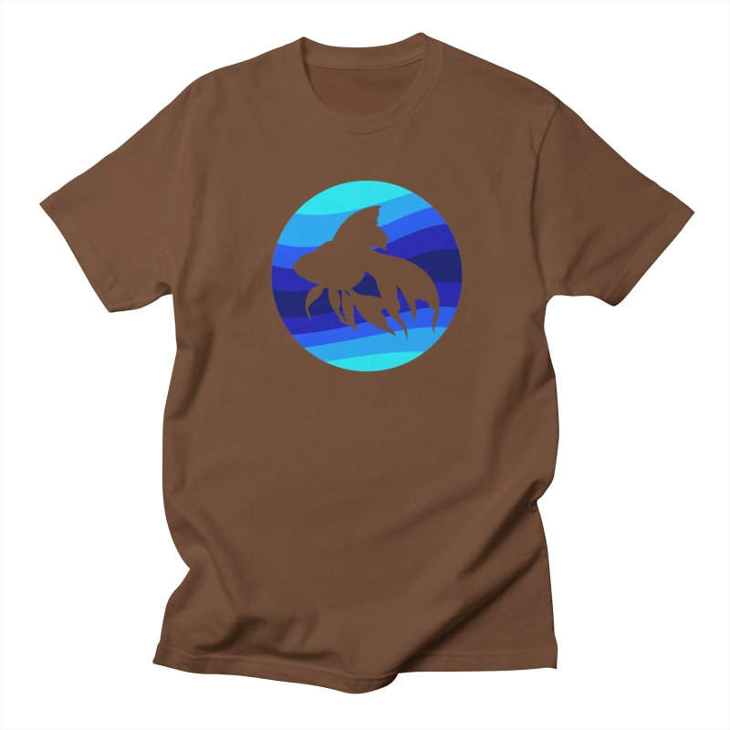 Blue wave Women's Unisex T-Shirt by DERG's Artist Shop