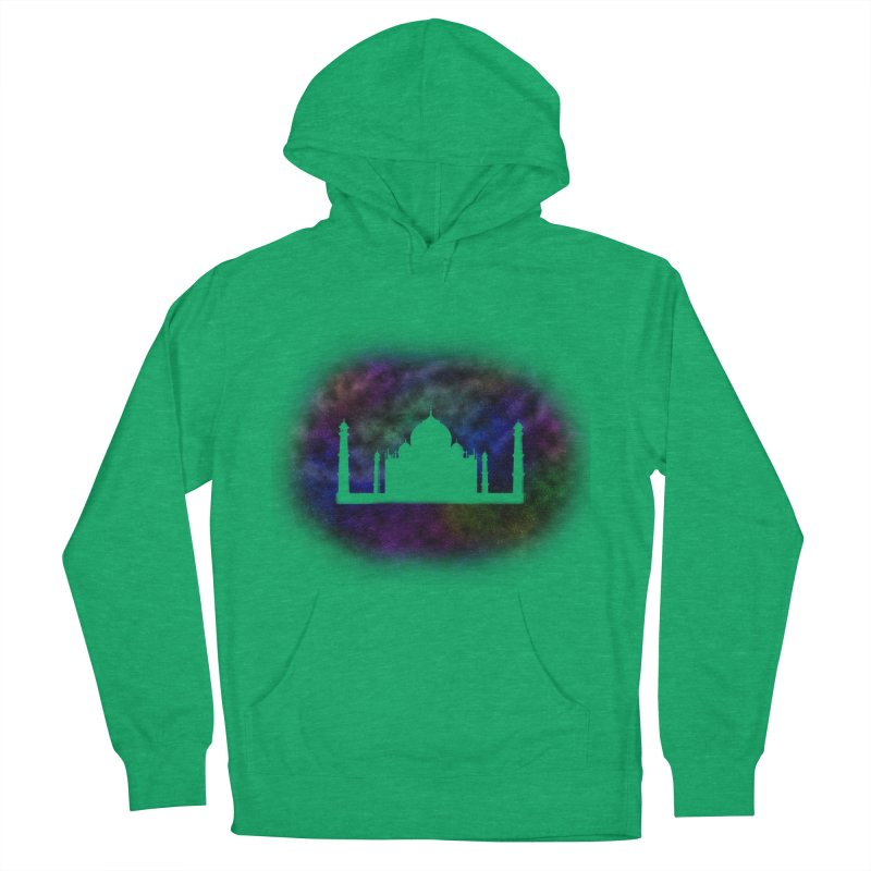 Taj Mahal Women's French Terry Pullover Hoody by DERG's Artist Shop