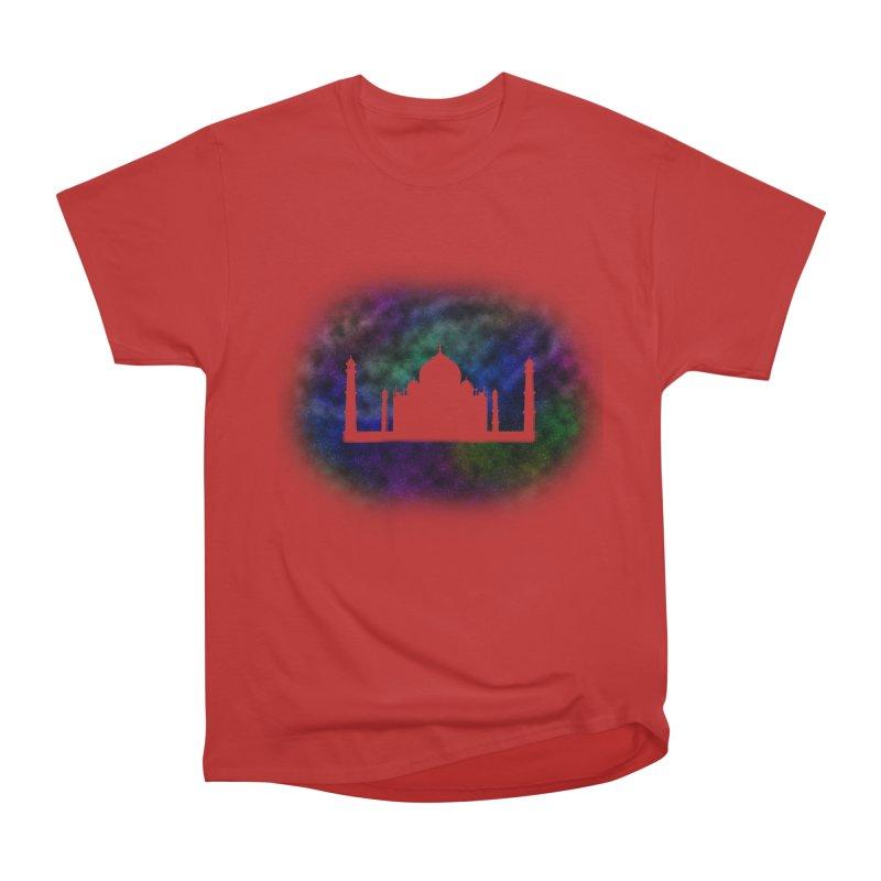 Taj Mahal Women's Heavyweight Unisex T-Shirt by DERG's Artist Shop